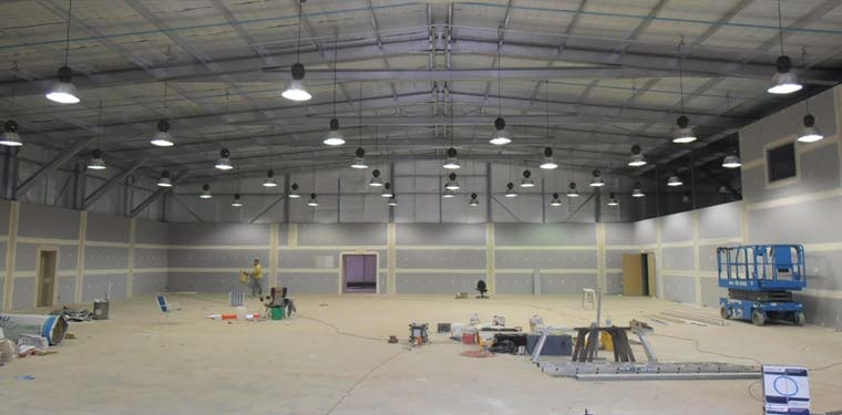commercial shed wiring