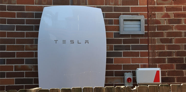 tesla powerwall solar battery system